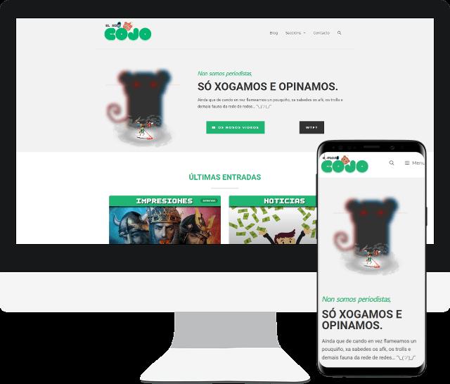 Imagen página web El Mono Cojo