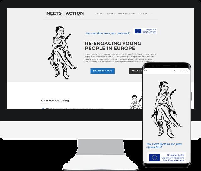 Imagen página web Neets In Action