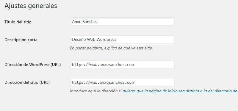 imagen pantalla administración wordpress