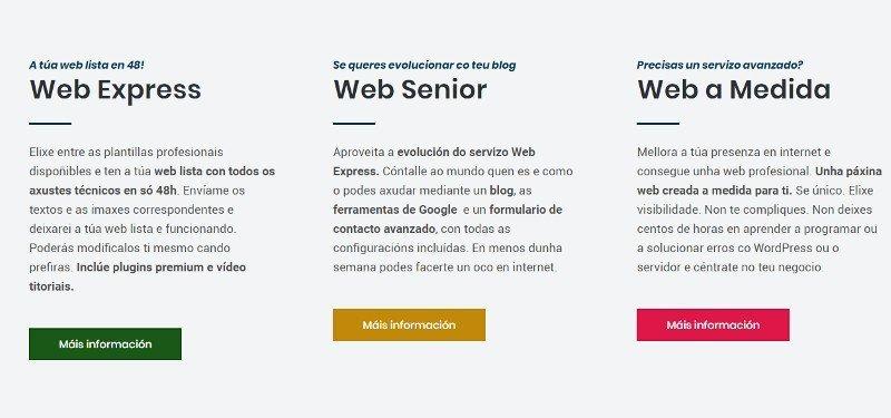 Como escribir textos página web servizos