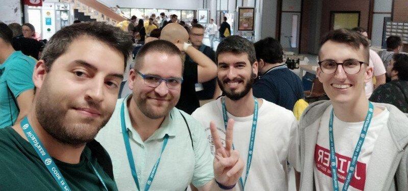 Grupo de WordPress de A Coruña en la WordCamp Pontevedra