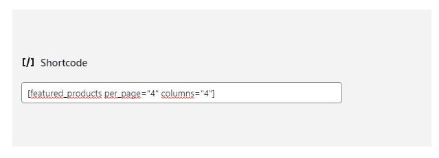 Cómo insertar un shortcode en Gutenberg